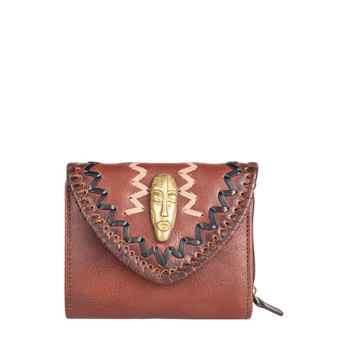 Swala W1 (Rfid) Women s Wallet, Kalahari Mel Ranch,  brown