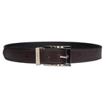 Jene Men s Belt, Ranch, 38,  black