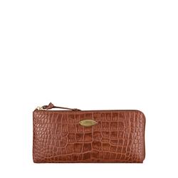 Mackenzie W1 (Rfid) Sb Women's Wallet, Croco,  tan