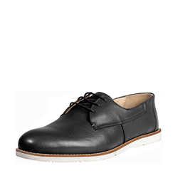 DAVID MENS SHOES MILANO, 6,  black
