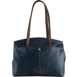 Cressida 02 Women s Handbag Cement Lizard,  midnight blue