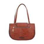 FLING 03 WOMENS HANDBAG CROCO,  tan