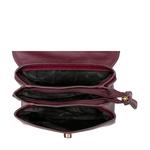 HIDESIGN X KALKI COQUETTE 02 SLING BAG MELBOURNE RANCH,  aubergine