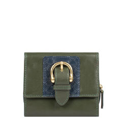 Shanghai W3 Sb (Rfid) Women's Wallet Melbourne Ranch,  emerald green