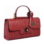 Loire Women s Handbag Ostrich,  brown
