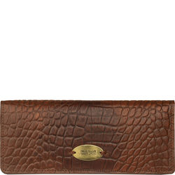Claea W1 (Rfid) Women's Wallet, Cement Croco Lamb,  tan