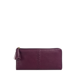 Sebbie W3(RFID) Women's Wallet Regular,  aubergine