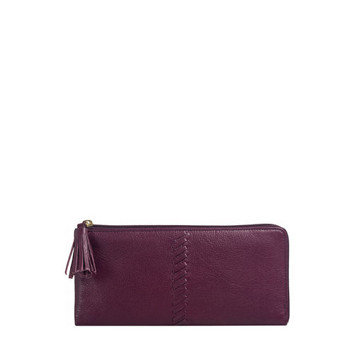 Sebbie W3(RFID) Women s Wallet Regular,  aubergine