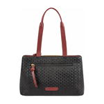 Leo 01 Sb Women s Handbag Woven Melbourne Ranch,  marsala