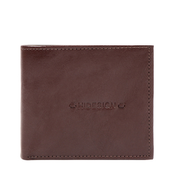 288 L103F RF MENS WALLET E. I GOAT,  brown