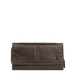 Stitch W3 Women's Wallet, Roma Melbourne Ranch,  brown, roma