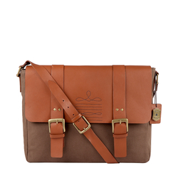 DORANGO 02 MESSENGER BAG DENVER,  tan