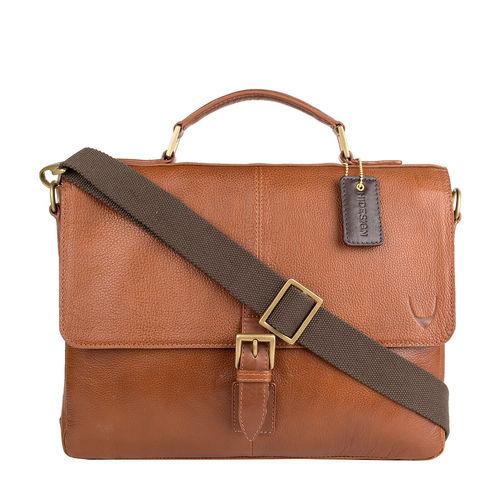 Merlin 03 Briefcase,  tan