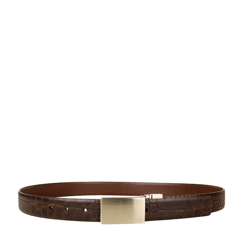 Robert 01 Men s Belt, Ranch Croco, 34-36,  brown