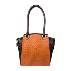 Ee Liya 01 Women's Handbag, Woven,  tan