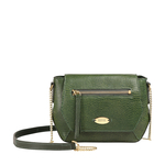 TAURUS 03 WOMENS HANDBAG LIZARD,  emerald green