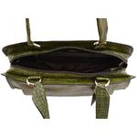 Orsay 03 Women s Handbag,  mango, croco