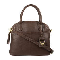 Ramanga Handbag, pebble,  brown