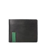 Dw004 Men s wallet,  black, ranch