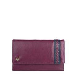 Drew W2 (Rfid) Women's Wallet, Roma Melbourne,  aubergine
