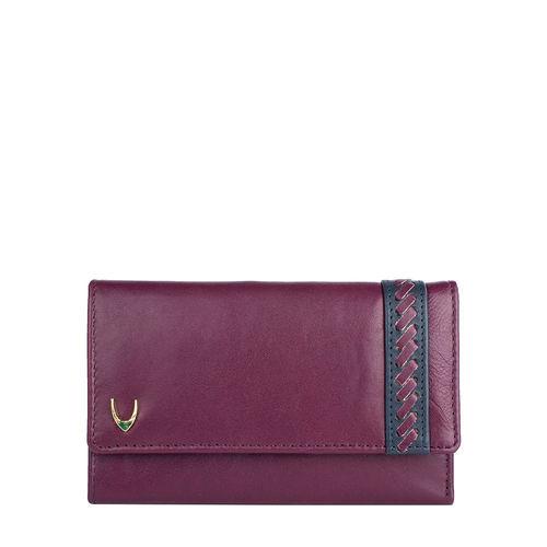 Drew W2 (Rfid) Women s Wallet, Roma Melbourne,  aubergine