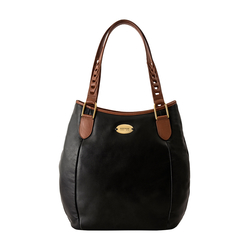 Tiramisu 01 Women's Handbag, Lamb,  black