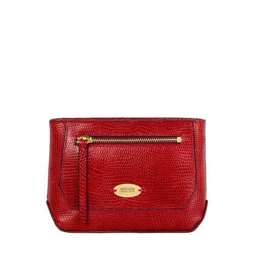 Taurus W1 (Rfid) Women s Wallet, Lizard Melbourne Ranch,  red