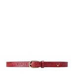 Ee Monica Women s Belt Glazed, 36 38,  marsala