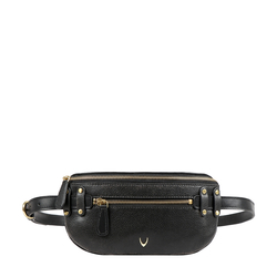 GOTHIC 01 BELT BAG AFGHAN,  black
