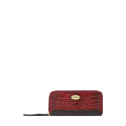 Spruce W2 Sb (Rfid) Women s Wallet Croco,  marsala