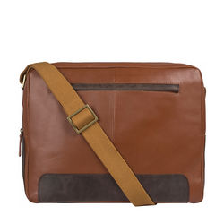 Washington 03 Messenger Bag, Soho,  tan