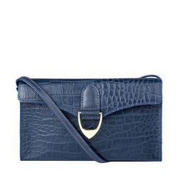 Ee Elsa W1 Women's Wallet, Croco,  blue