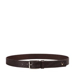 Ee Leanardo Men's Belt Glazed Croco Printed,  brown, 40