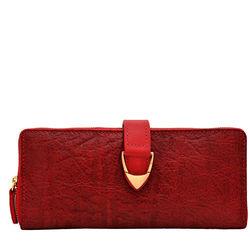 Yangtze W2 Women's Wallet,  red, elephant