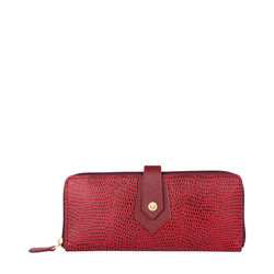 Hong Kong W2 Sb Women's wallet, Lizard Melbourne Ranch,  marsala