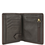 281-L108F Men s wallet,  brown, soho