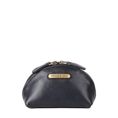 1185A- Coin Pouch Black,  black