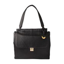 Alhena 01 Women's Handbag, Cow Deer,  black