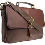 Merlin 01 Briefcase,  brown, siberia