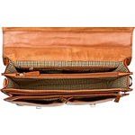 Gareth Hd 827 Briefcase,  tan, regular