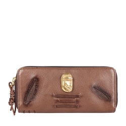 SADHAVI W1 RF WOMENS WALLET COW BOY,  brown
