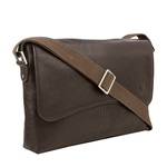Melrose Place 03 Men s Messanger Bag, Regular,  brown