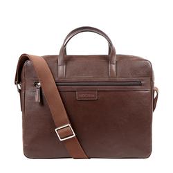 EE LUKA 01 MESSENGER BAG MANHATTAN,  brown