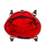 Hidesign x Kalki Stardust 01 Women s Handbag, Waxed Split Regular,  rust