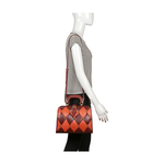 FLAPPER GIRL 02 WOMEN S HANDBAG LAMB,  marsala