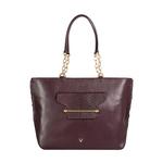 Delilah 03 Women s Handbag Snake,  aubergine
