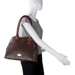 Frankfurt 01 Sb Women s Handbag, Hdn Woven Melbourne Ranch,  brown