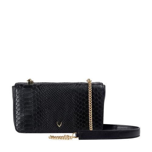 Hidesign X Kalki 3 A. M 02 Women s Handbag Snake,  black