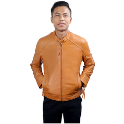 BECKHAM MENS JACKET SHEEP, m,  tan