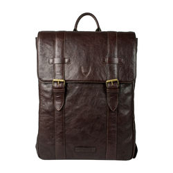 Indigo 01 E. I Men's Back Pack, E. I. Goat Veg,  brown